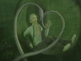Draco and the Squid by cambium