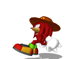 Knuckles the Echidna by jetknight