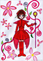 Card Captor Sakura - Sakura by BIARS