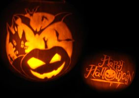 Halloween Pumpkin Carving 2008 by teran80