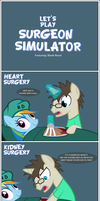 Let's Play - Surgeon Simulator by Zacatron94