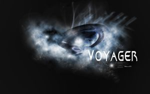 Voyager in the clouds by Belanna42