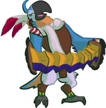 Kass (Zelda: Breath of the Wild) by DoctorNuclear