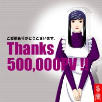 Thanks_500000PV by gofu-web