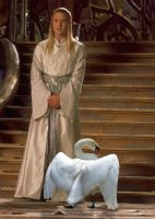Celeborn and His Daemon by LJ-Todd