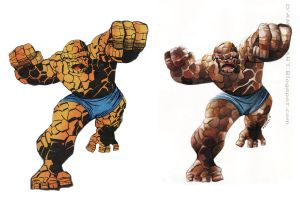 BEN GRIMM-The Thing by Gedamo