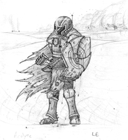 (OLD) Acolyte in the Desert by Llortor