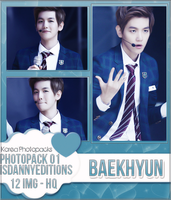 Baekhyun (EXO) - PHOTOPACK#01 by JeffvinyTwilight