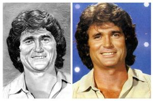 Michael Landon as Charles Ingalls by jolabrodnica