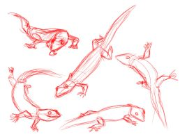 Geckos by TR-the-Animator