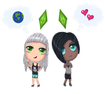 Ying y Yang (Eddo Sims 4 Serie) by LadyDefsoul