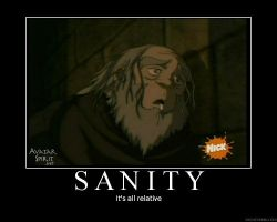 Iroh's sanity by minime41191