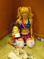 Juliet Starling with Nick by Etrigan423