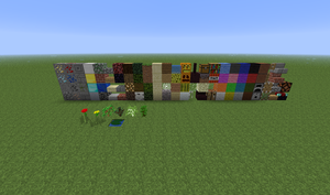 All mc blocks in Creative by CeroCraft