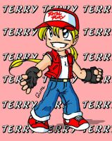 Chibi - Terry Bogard by Gual-kun