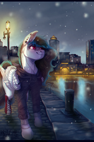 COMM: First snow by ScribbleWoof