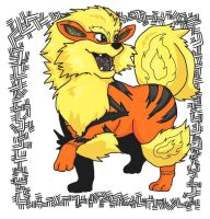 Ornate Pokemon: Arcanine by StacheRabbit