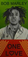 Bob Marley by Rollingboxes
