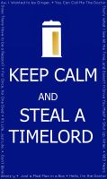 .:Just Steal a Timelord:. by FF7ninjachan