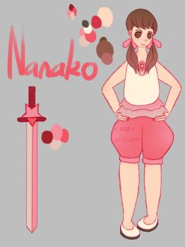 Nanako Reference by Doobles1