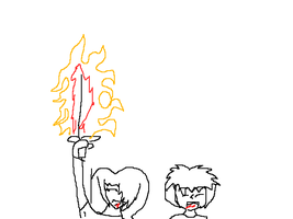 yay fire or flame sword by firesword7