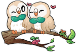 lovebirds by luckymiso