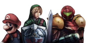 Commission: Nintendo Enthusiast banner by Neidii