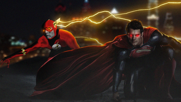 The Flash x Superman by LitgraphiX