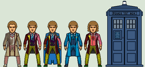 The 6th Doctor by Stuart1001