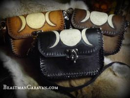Triple Moon Purse Groupshot by The-Beast-Man
