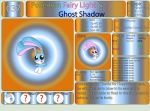 Pokemon Fairy Light and Ghost Shadow ''037'' by AndkeAnka