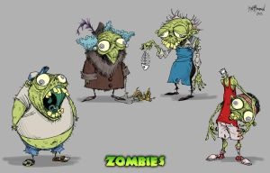Zombies 3 by KurtMAndersen