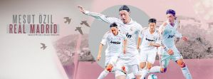 Profile Cover Facebook Mesut Ozil - Real Madrid by shad-designs