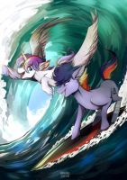 Surf's up by Renciel