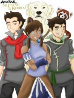 Legend of Korra by j-eli-bean