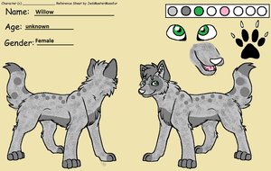 my new wolf character by GliitchingTengu