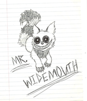 Mr.Widemouth by BlackandWhiteSoul13