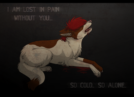 So alone.. by Xtheillusionist