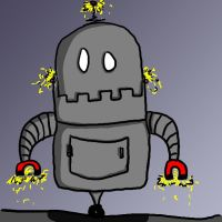 Funny robot by TaylorSch