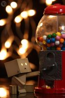danbo and bubblegum machine by sp333d1