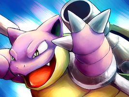 Shiny Blastoise Wallpaper by Togechu