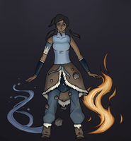 Avatar Korra by Red-Shepherd