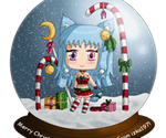 Snowglobe Ami- Merry Christmas! by izka197
