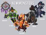 NEW MONSTERs by Daniel-DnA