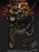 Motorcycle Majini by JhonyHebert