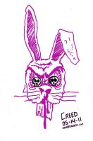 Evil Bunny by CreedStonegate