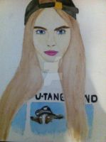 Cara Delevingne by xTEAMGRIMMIExx