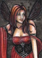 Wasp ACEO by kitttykat