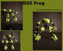 Destroyer 26 Frog by welcometothedarksyde