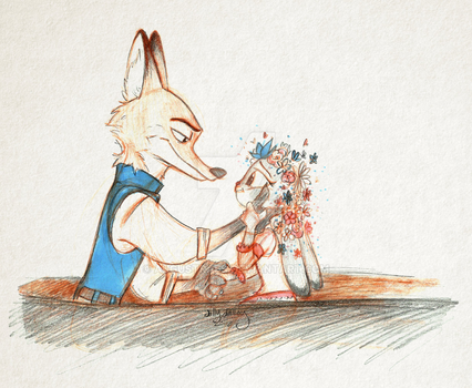 It's Warm, and Real, and Bright... [ZOOTOPIA] by AugustRaes
